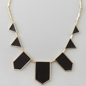 House of Harlow Geometric Station Necklace